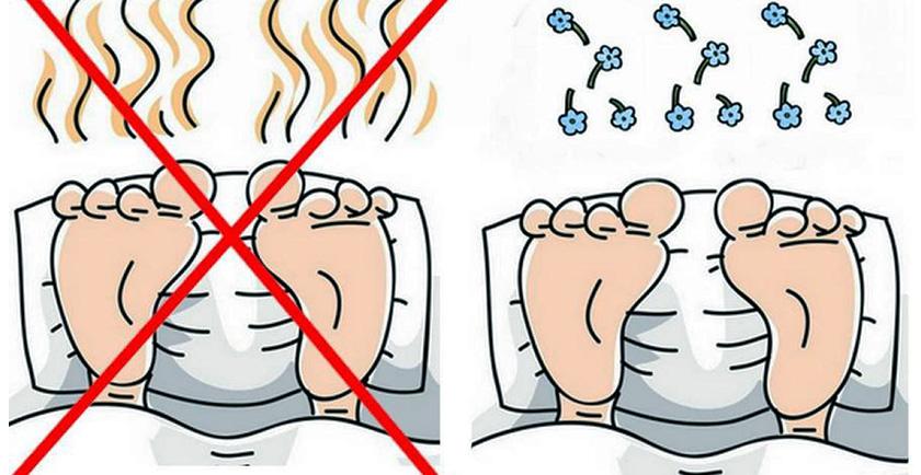 imagen Remedios caseros para el olor de pies