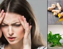 imagen Remedios caseros para aliviar las migrañas